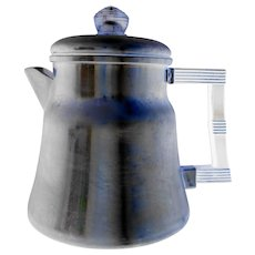 Wearever Aluminum Coffee Pot Percolator X-3006