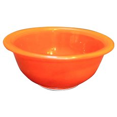 Pyrex 322 1 L Red On Clear Mixing Bowl