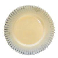 Ivrene Beige Petalware MacBeth Evans Salad Plate Gold Decoration