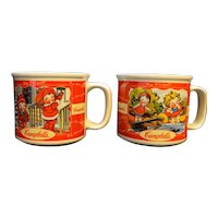 Campbell's Soup Fall Winter Spring Summer Seasons Soup Mug Houston Harvest