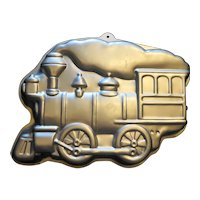 Wilton Train Locomotive Steam Engine Pan 1983