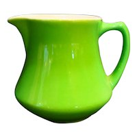 Syracuse China Solid Light Green Restaurant Ware Creamer