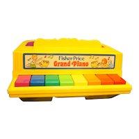 Fisher Price Grand Piano 1986