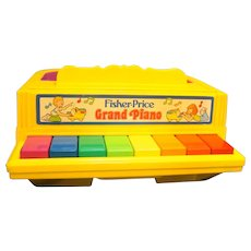 Fisher Price Grand Piano 1986