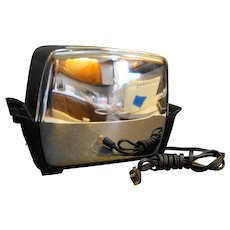 Proctor Chrome Bakelite 2 Slice Toaster 1950s Model 1484D