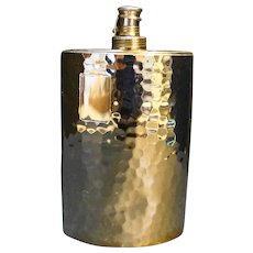 AHS Tin Lined Chrome 10 Oz Pocket Flask Made in Germany