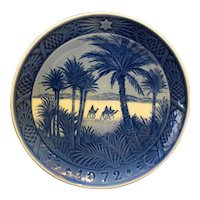 Royal Copenhagen 1972 In The Desert Plate New In Box
