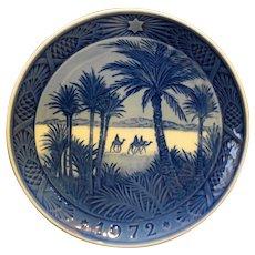 Royal Copenhagen 1972 In The Desert Plate New In Box