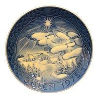 Grande Porcelain of Copenhagen Julen 1975 Christmas Plate