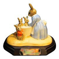 Royal Doulton Bunnykins Bathnight Figurine New L Ed 239/5000