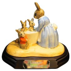 Royal Doulton Bunnykins Bathnight Figurine New L Ed 239/5000