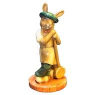 Royal Doulton Bunnykins Sagger Maker Bunny Figurine NIB L Ed 297/500