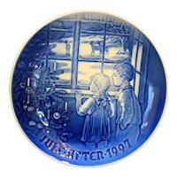 Bing Grondahl Country Christmas 1997 Christmas Plate NIB