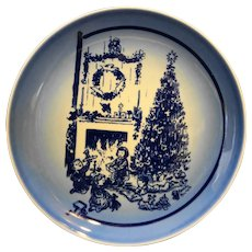 Bing Grondahl Christmas Marshall Field's 1980 Plate Season's Greetings