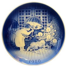 Desiree Willie Winkie Svend Jensen 11th Edition 1980 Plate