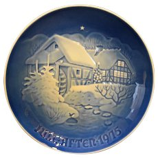 Bing Grondahl Christmas at the Old Watermill Jule After 1975 Plate