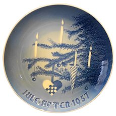 Bing Grondahl Christmas Plate Jule After 1957