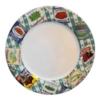 Fitz and Floyd Country Cupboard Dinner Plate