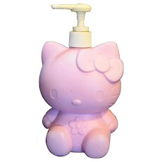 Hello Kitty Sanrio Pink Lotion Soap Pump Dispenser 1999