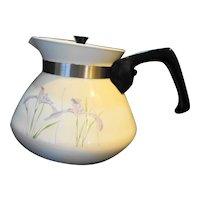 Corning Ware Corelle Shadow Iris Teapot P-104 6 Cup
