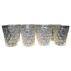 Fostoria American Shot Glasses Whiskey Set of 8