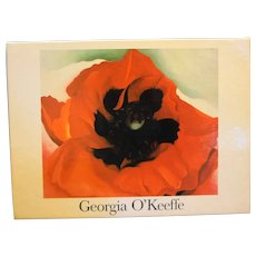 Georgia O'Keefe Floral Notecards Set of 12 Unused