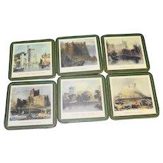 Pimpernel Irish Castles Coasters Set of 6