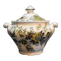 Ridgway Ridgways Windsor Multicolor Sugar Bowl With Lid