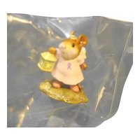 Wee Forest Folk M-262A Donna's Angel Breast Cancer