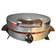Toastmaster Chrome Vintage Waffle Baker 442A Nonstick