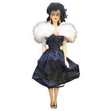 Barbie Gay Parisienne 1959 Porcelain Treasures First Series Limited Edition New Old Stock 1991