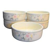 Noritake Morning Melody Keltcraft Ireland Soup Cereal Bowls Set of 5
