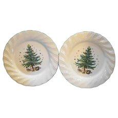 Nikko Happy Holidays Dinner Plates Pair