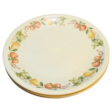 Wedgwood Quince Dinner Plates Set of 3