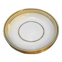 Noritake Caliban 3733 Soup Cereal Bowls Set of 4