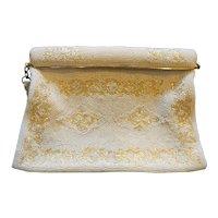Mr John Beaded White Purse Handbag