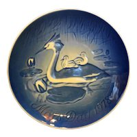 Bing Grondahl Mother's Day 1978 Wood Ducks Plate