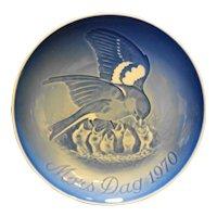 Bing Grondahl Mother's Day 1970 Birds Plate