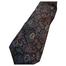 Neiman Marcus Paisley Silk Tie
