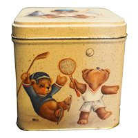 Century Resources Bears Sports Tin Small