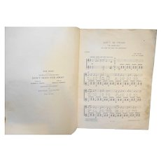 Don't Be Cross Der Obersteiger Theodor Lohr Sheet Music Zither 1895
