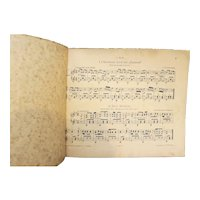 Zither Sheet Music Short Pieces Group of 11