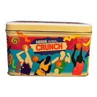 Nestle Crunch NBA Vintage Tin 1992