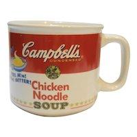 Campbell's Chicken Noodle Soup Mug 1997 Westwood