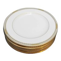 Mikasa Sheraton Fine Ivory China Dinner Plates Set of 6