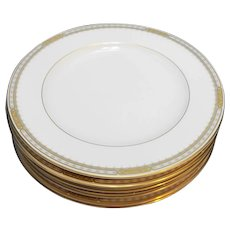 Mikasa Sheraton Fine Ivory China Dinner Plates Set of 6