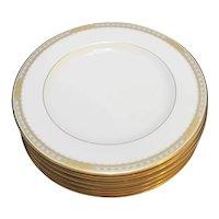 Mikasa Sheraton Fine Ivory China Salad Plates Set of 6