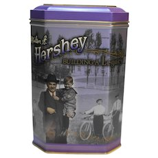 Hershey Building A Legacy Canister Tin #3 Purple Octagon