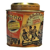 Hershey's Chocolate Advertising Tin Canister Vintage Edition #3