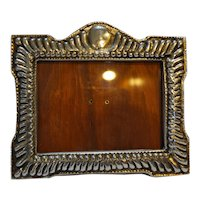 Mexico Picture Frame Cast Aluminum Wood